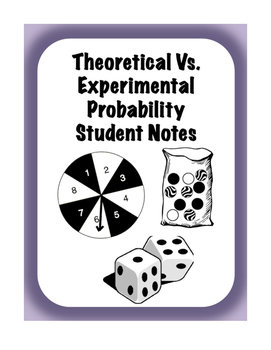 Theoretical vs Experimental Probability Interactive Scaffo