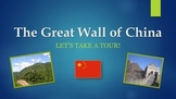 Great Wall of China PowerPoint Presentation with Activities
