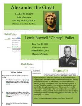 Great Warriors - Chesty Puller