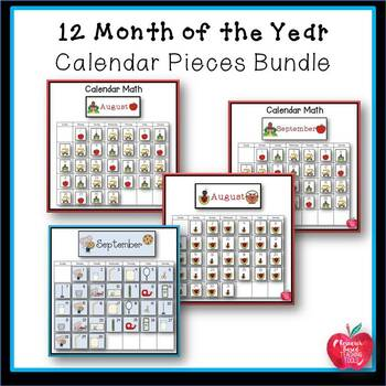Great for Back to School: Calendar Pieces and Headers for