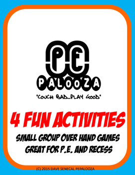 Great games for small groups over hand