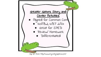 Greater Gators Activity Packet