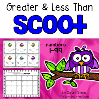 Greater & Less Than Scoot {task cards!}
