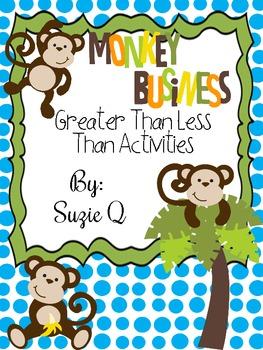 Greater Than Less Than Monkey Fun