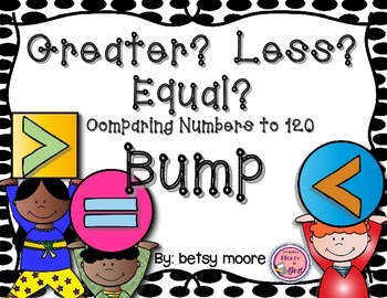 Greater Than, Less Than, or Equal To Comparing Numbers Thr