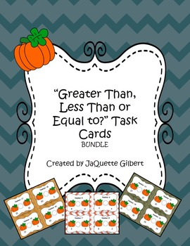 """""""Greater Than, Less Than or Equal to?"""" Bundle (3 sets!)"""