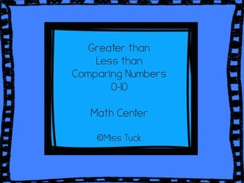 Greater Than and Less Than: Comparing Numbers 0-10