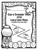 Greater Than/Less Than: Fun with Gary and Lucy, A Mathemat