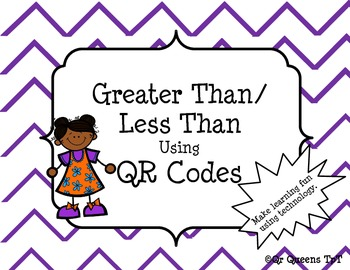 Greater Than/Less Than using QR Codes