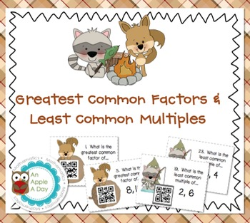 Greatest Common Factors and Least Common Multiples: A File