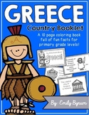 Greece Booklet (A Country Study)