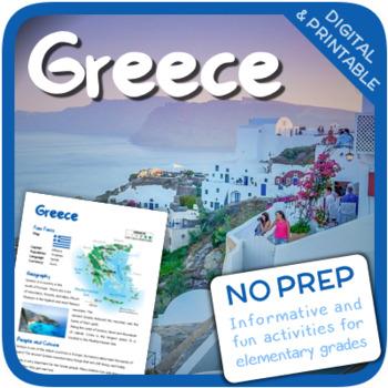 Greece (Fun stuff for elementary grades)
