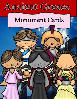 Greece: Monument Cards