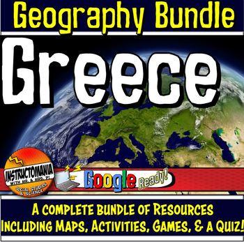 Greece Physical Geography Mini Bundle