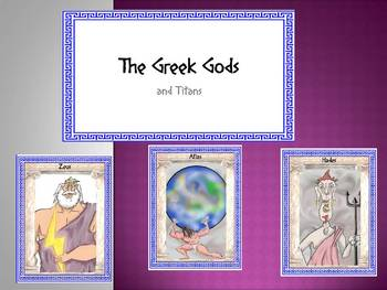 Greek Gods and Titans
