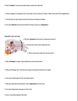 Greek Heroes Study Guide