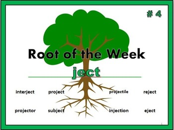 Greek & Latin Root Word: ject