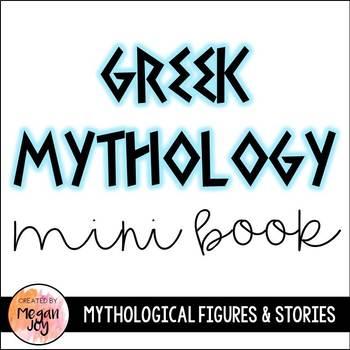 Greek Myth Mini Books