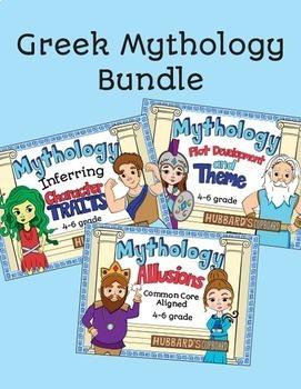 Greek Mythology Mega Bundle Integrated w/ ELA Skills - Sto