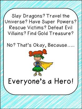 Everyone's a Hero Activity