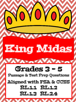 Greek Mythology: King Midas - Aligned with FSA