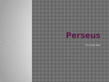 Greek Mythology Perseus PowerPoint