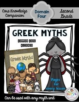 Greek Mythology ~Second Grade (Core Knowledge Domain 4)