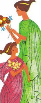 Greek Mythology Story DEMETER and PERSEPHONE 18 Multiple C