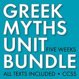 GREEK MYTHOLOGY Unit Plan for Teens, Five-Week Myth Unit,