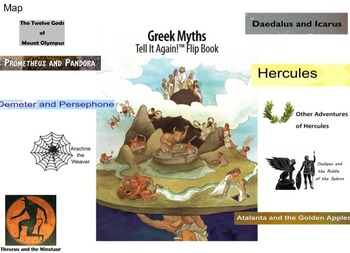 4 Greek Myths- Engage NY