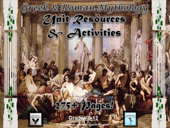 Greek and Roman Mythology Unit Resources and Activities