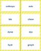 Greek Roots - Prefixes & Suffixes, Matching Sort, Interact