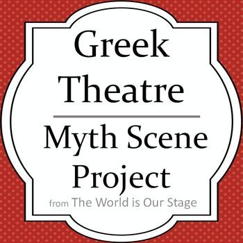 Greek Theatre Drama Myth Scene Project
