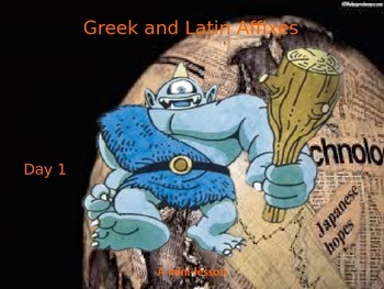 Greek and Latin Affixes Mini-Lesson