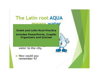 Greek and Latin Root Practice: lists 4,5,6