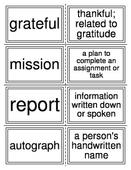 Greek and Latin Root Words-Vocabulary Cards
