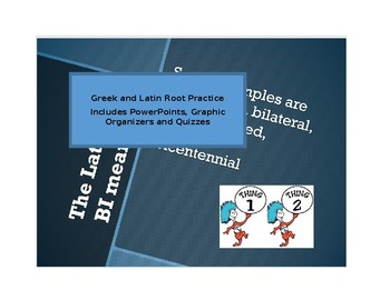 Greek and Latin Roots: Lists 1,2,3