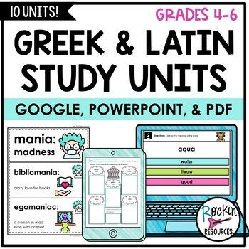 Greek and Latin Study