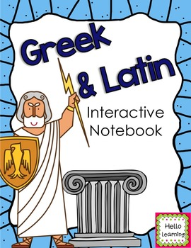 Greek and Latin Word Roots Interactive Notebook