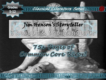 Greek and Roman Mythology Theseus and the Minotaur Jim Hen