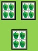 Green Apple Letter and Number Flashcards and Posters Bundle