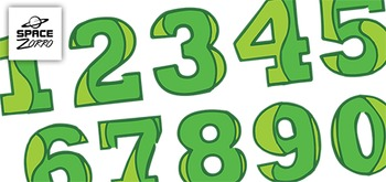Green Digits ( 10 images )