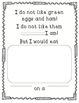 Green Eggs and Ham FREEBIE