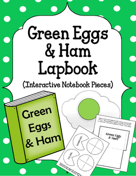 Green Eggs and Ham Lapbook. Interactive Notebook Peices. D
