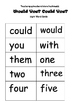 Green Eggs and Ham Mini Book: Guided Reading:  Number Word