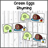 Green Eggs and Ham Rhyming {Dollar Deal}