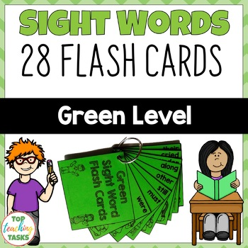 Green Level High Frequency Sight Word Flash Cards for Year One NZ