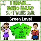 Green Level Sight Word Game - I have Who Has - Year One NZ