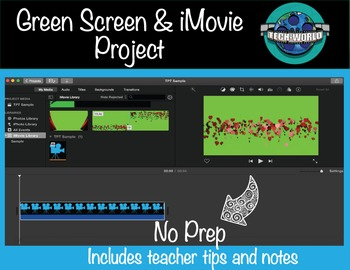 Green Screen Project for Any Subject