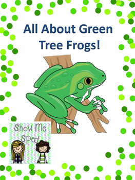 Green Tree Frog Adapted Book